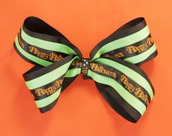 Trick or Treat Halloween Hair Bow