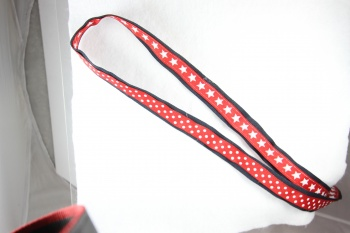 Blue and Red Star School Uniform Belt