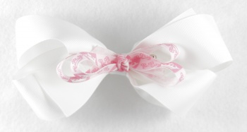 White Boutique with Pink Princess Bow