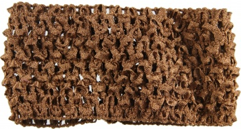 Brown Crochet Headband 1.5