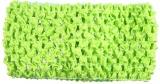 Lime Green Crochet Headband 2.75