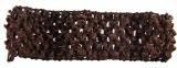 Dark Brown Crochet Headband