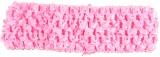 Candy Pink Crochet Headband 1.5