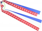 Red White and Blue Ponytail Holder