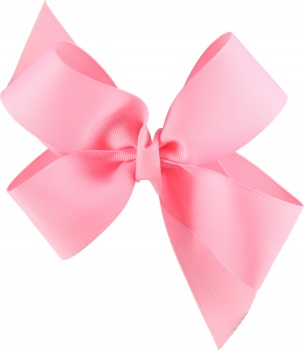 Pink Boutique Style Hair Bow
