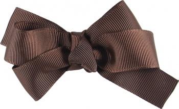 Brown Grosgrain Boutique Bow