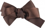 Brown Grosgrain Boutique Bow