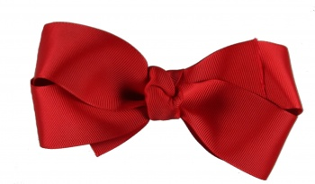 Red Boutique Grosgrain Bow