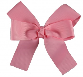 Pink Long Tail H air Bow