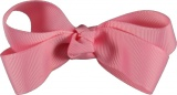 Pink Grosgrain Boutique Bow
