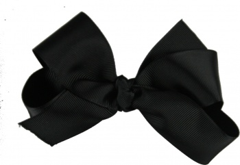 Black Boutique Bow