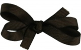 Brown Baby Hair Bow