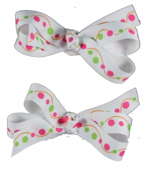 Piggytails Polka Dots Bow
