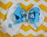Olaf Snowman from Frozen Hair Bow for Girl's